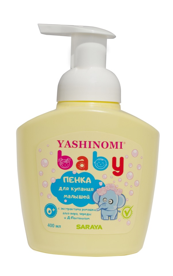 Пенка для купания малышей Yashinomi baby