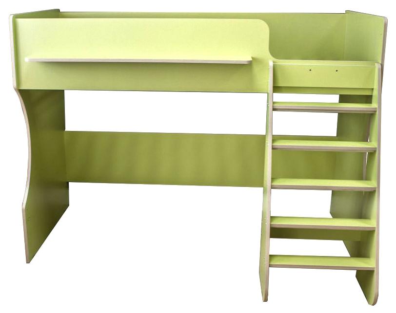 Кровать чердак Капризун Р432 лайм