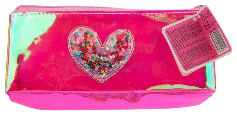 Купить Детская сумка Lukky Сердце с блестками Т18081,