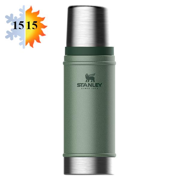 Термос 0.47л STANLEY Classic - Темно-зеленый (10-01228-072)