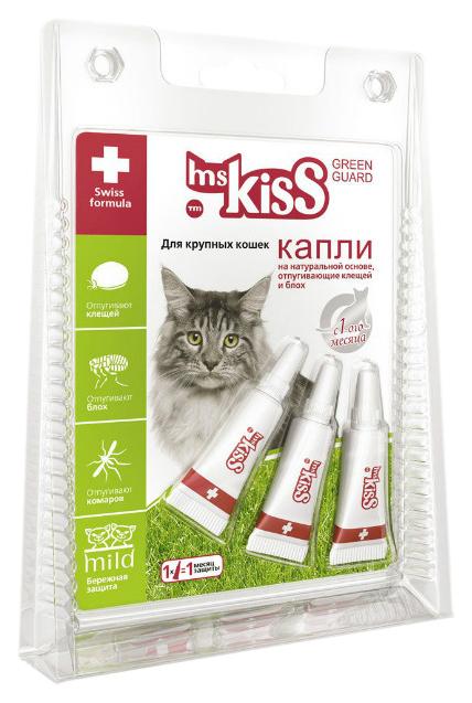 Капли для кошек против паразитов Ms. Kiss