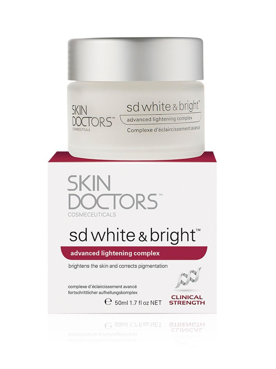 Купить Skindoctors Отбеливающий крем для лица и тела SD White & Bright, 50 мл, Skin Doctors