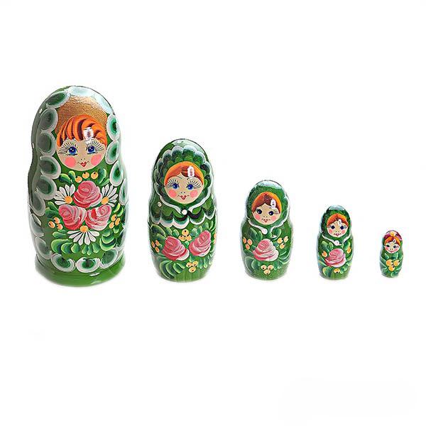 Купить МАТРЕШКА 5 в 1 (расписная) МАЛАЯ (деревянная игрушка+Нескучные игры+матрешка/8055), Нескучные Игры,