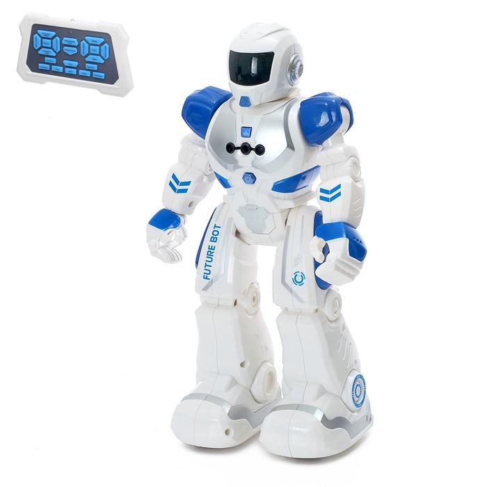 Робот Р/У Смарт бот, ходит, световые