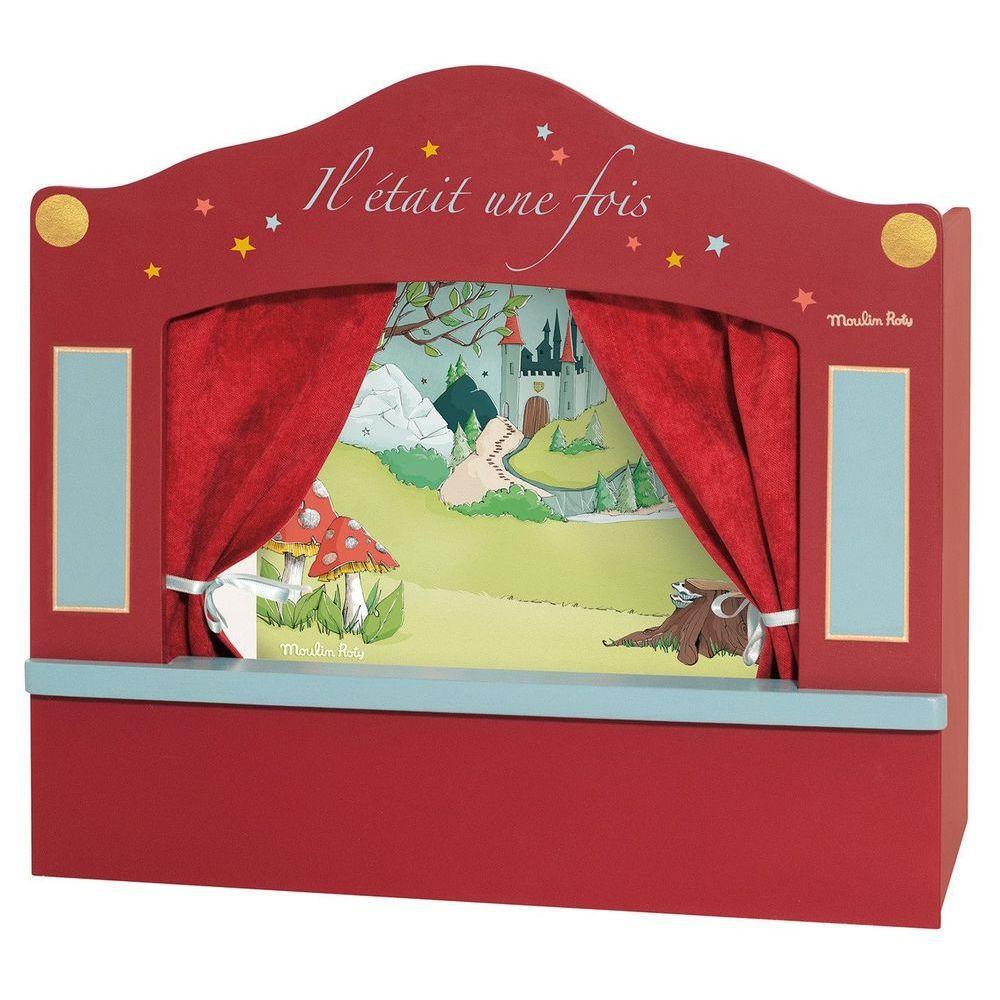 Кукольный театр Moulin Roty малый красный