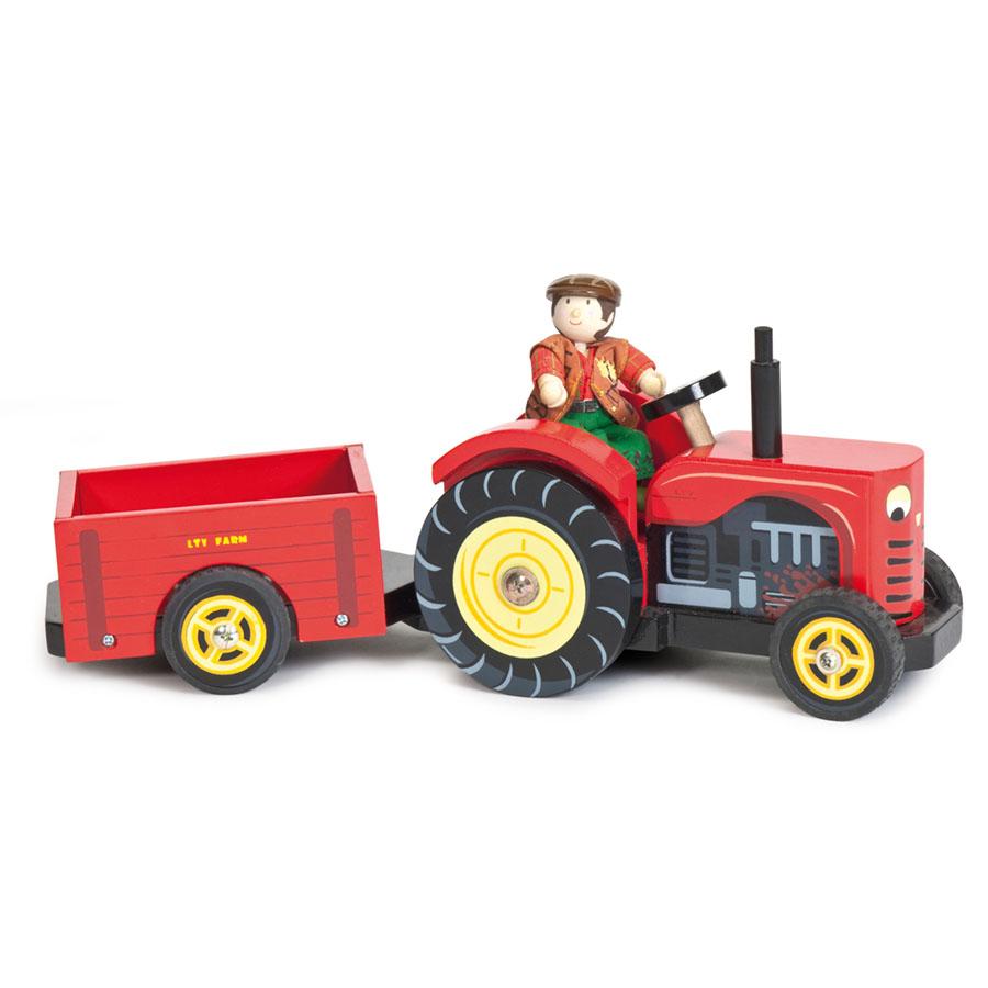 Игровой набор Трактор Берни, Le Toy Van