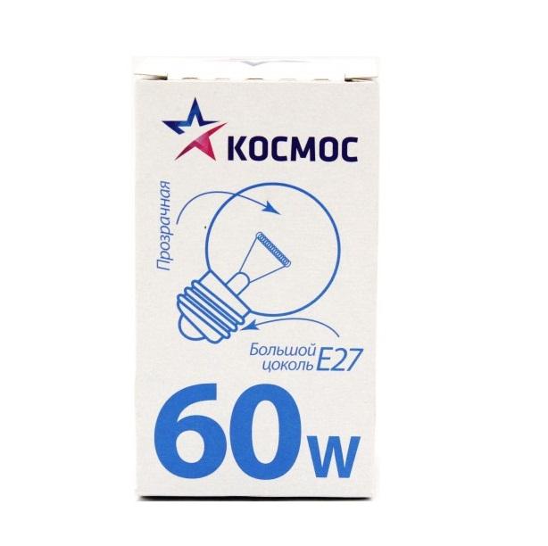 Лампа накаливания КОСМОС 61450
