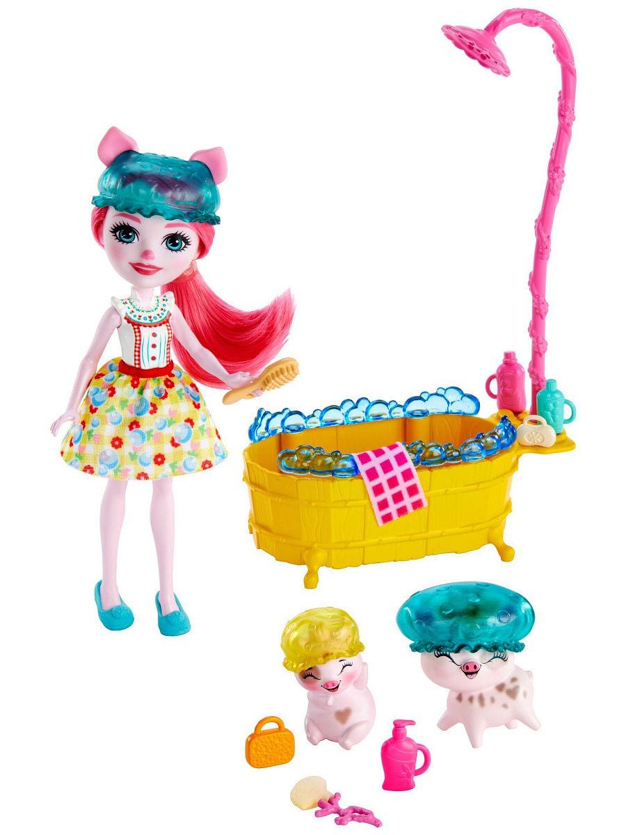Игровой набор Mattel Enchantimals Банный день