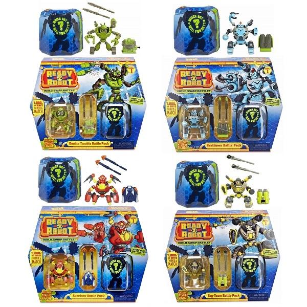 Игрушка MGA Entertainment Ready2Robot Две капсулы