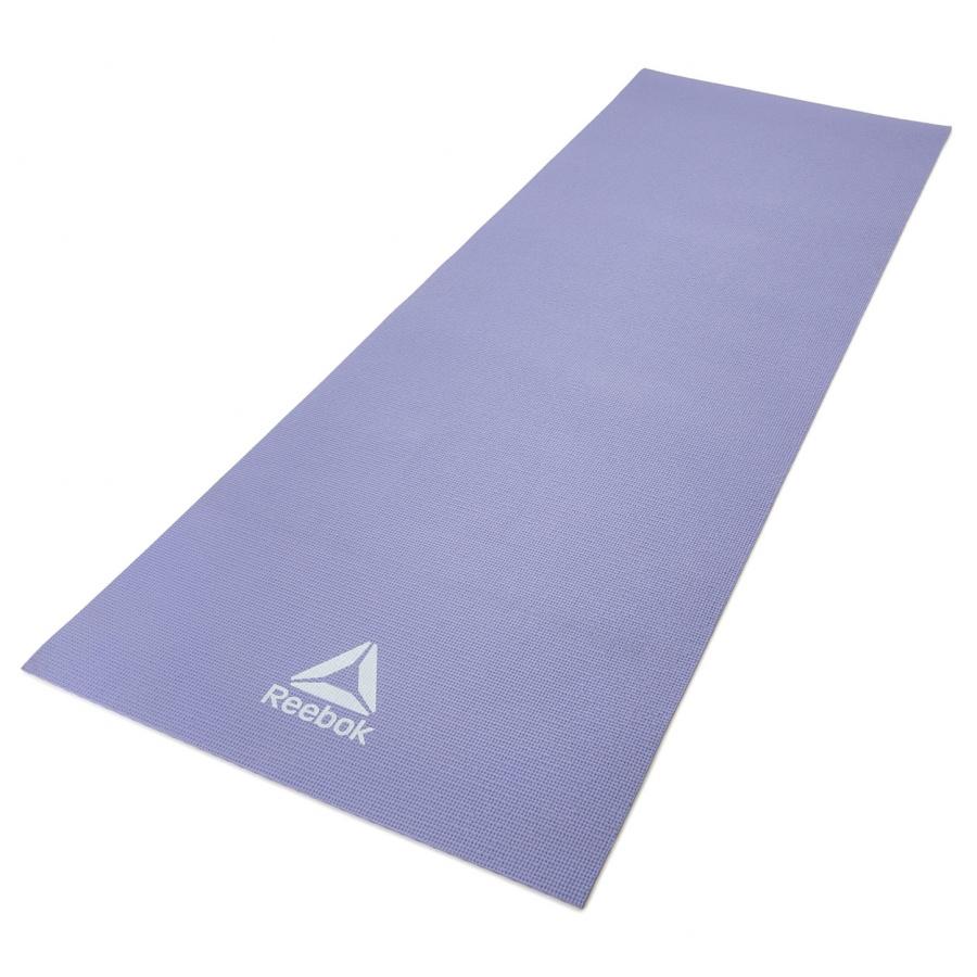 Коврик для йоги и фитнеса Reebok RAYG-11022PL фиолетовый 4 мм фото