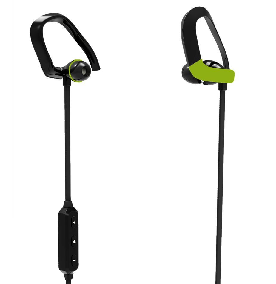 Наушники Telefunken TF-HS1004B Black/Green