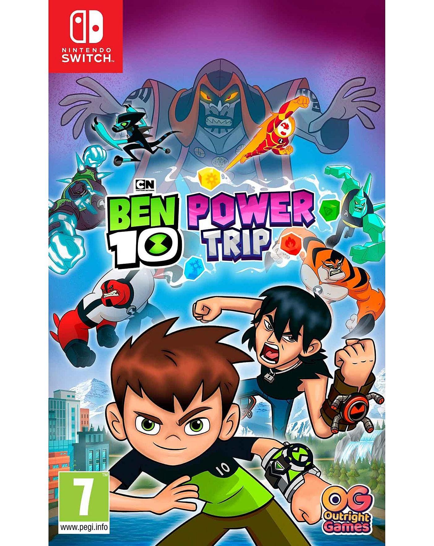 Игра Ben 10: Мощное Приключение для Nintendo