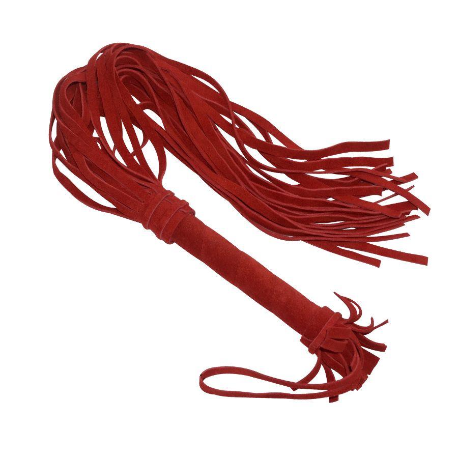 Флоггер Sitabella Королевский велюр 65 см красный.