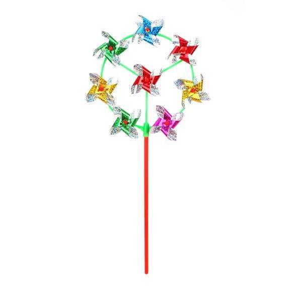 Вертушка 8 в 1 Наша игрушка Цветик