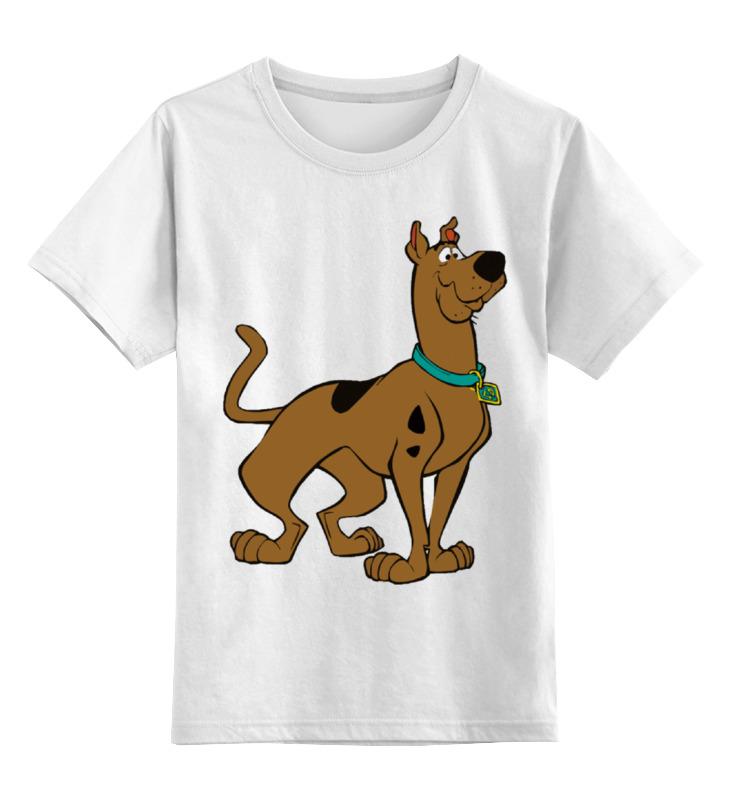 Детская футболка Printio Скуби-ду цв.белый р.140 0000002276650 по цене 790