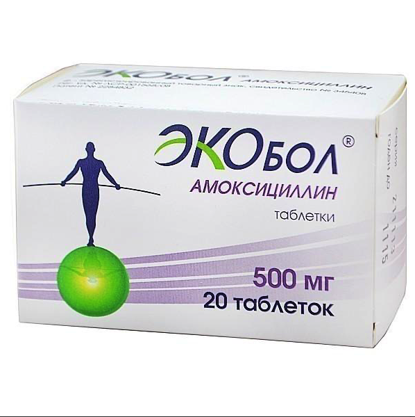 Купить Экобол таблетки 500 мг 20 шт., АВВА РУС