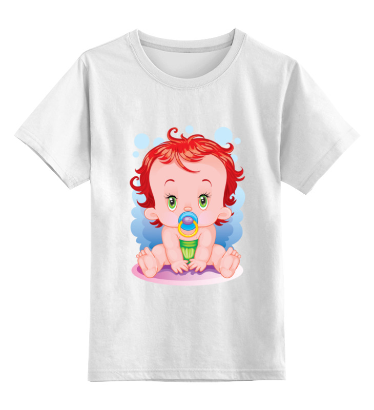 Детская футболка Printio Детки цв.белый р.140 0000002068977 по цене 672