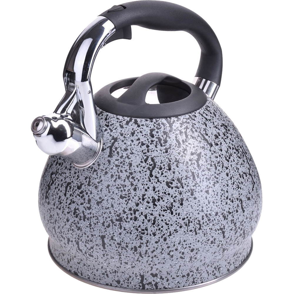 Чайник MAYER #and# BOCH, 3,4 л, со свистком, серый