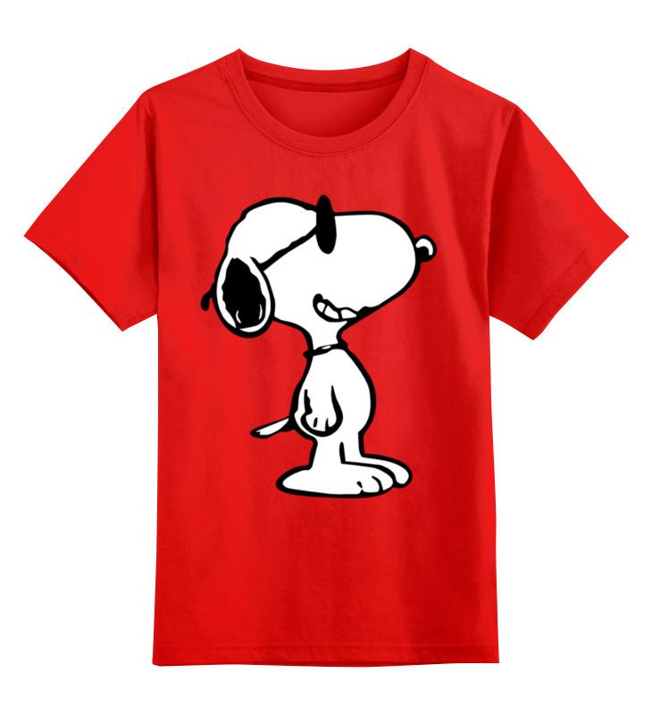 Детская футболка Printio Снупи цв.красный р.140 0000001761945 по цене 990