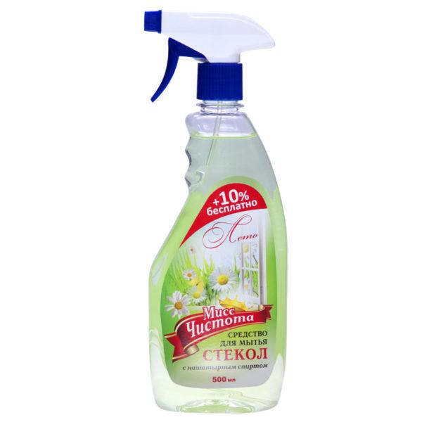 Мисс Чистота Лето для мытья стекол