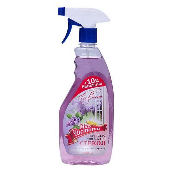 Мисс Чистота Весна для мытья стекол