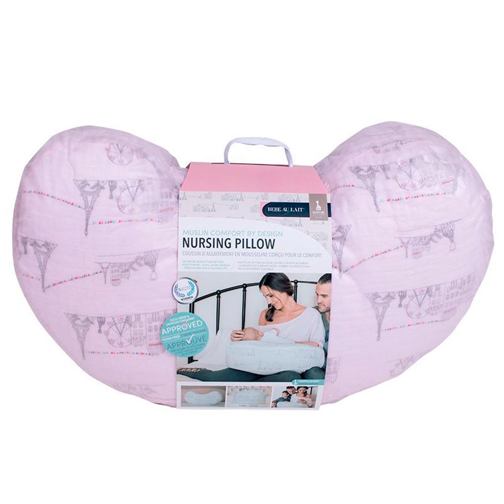 Подушка для кормления Bebe au Lait Carousel Pink
