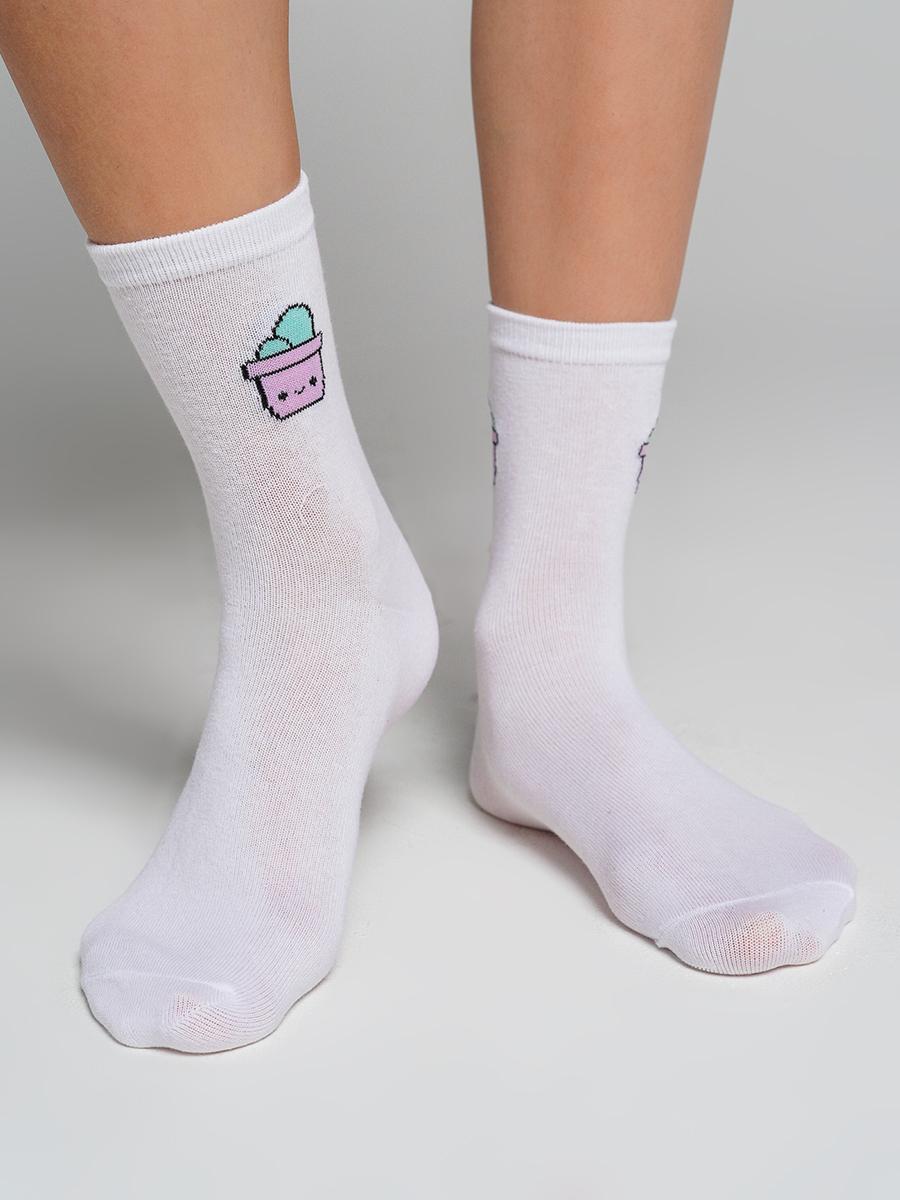 Набор носков женских ТВОЕ A7176 разноцветных ONE SIZE