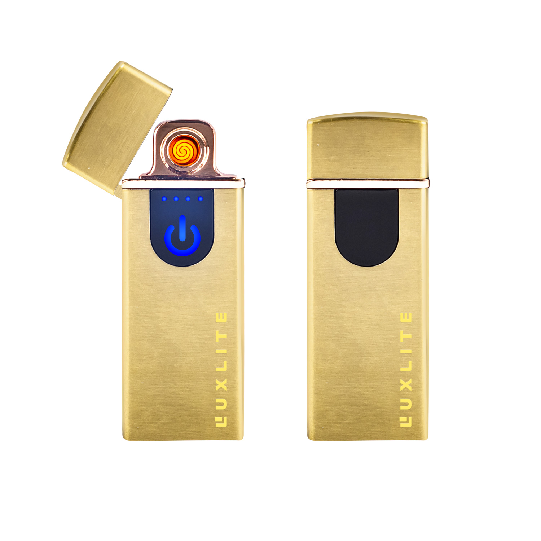 Зажигалка Luxlite S002 Gold фото