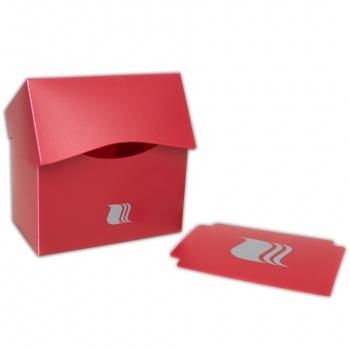 Пластиковая коробочка blackfire горизонтальная   красная