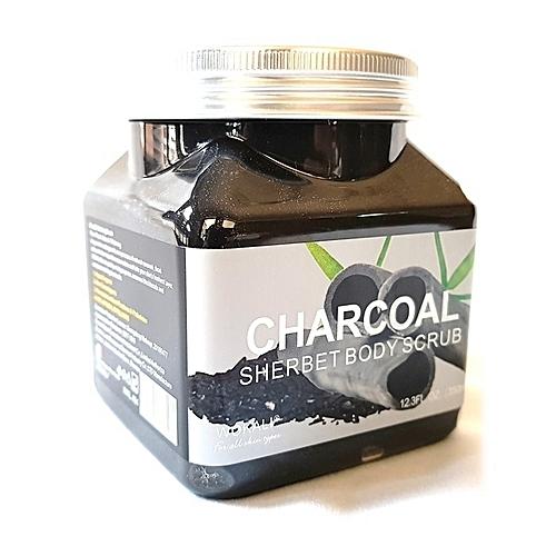 Купить Скраб для тела Wokali Charcoal Sherbet Body Scrub Уголь 350 мл