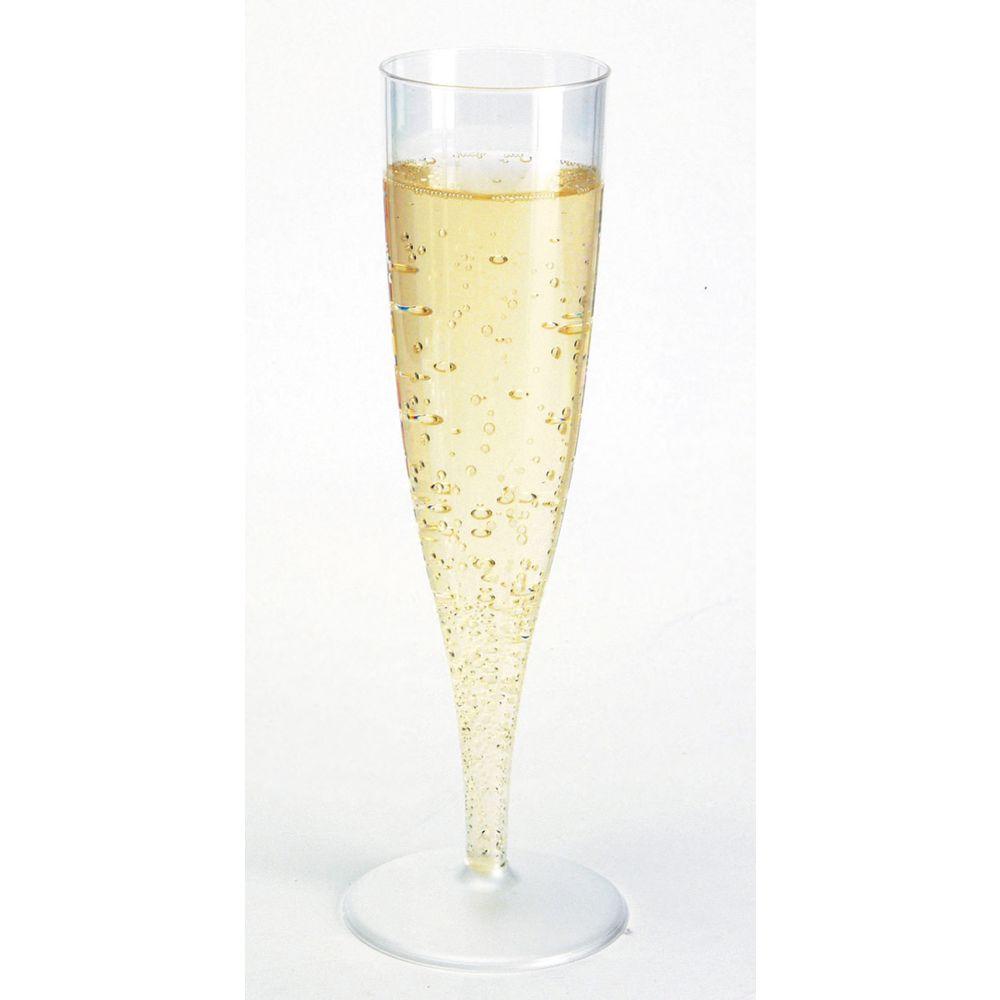 Бокал для шампанского прозрачный 120 мл