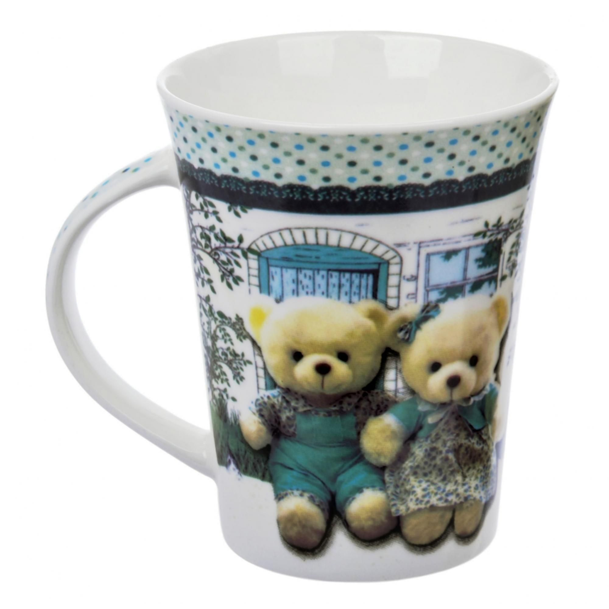 Кружка Liling Quanhu Медведи на даче №3 380 мл