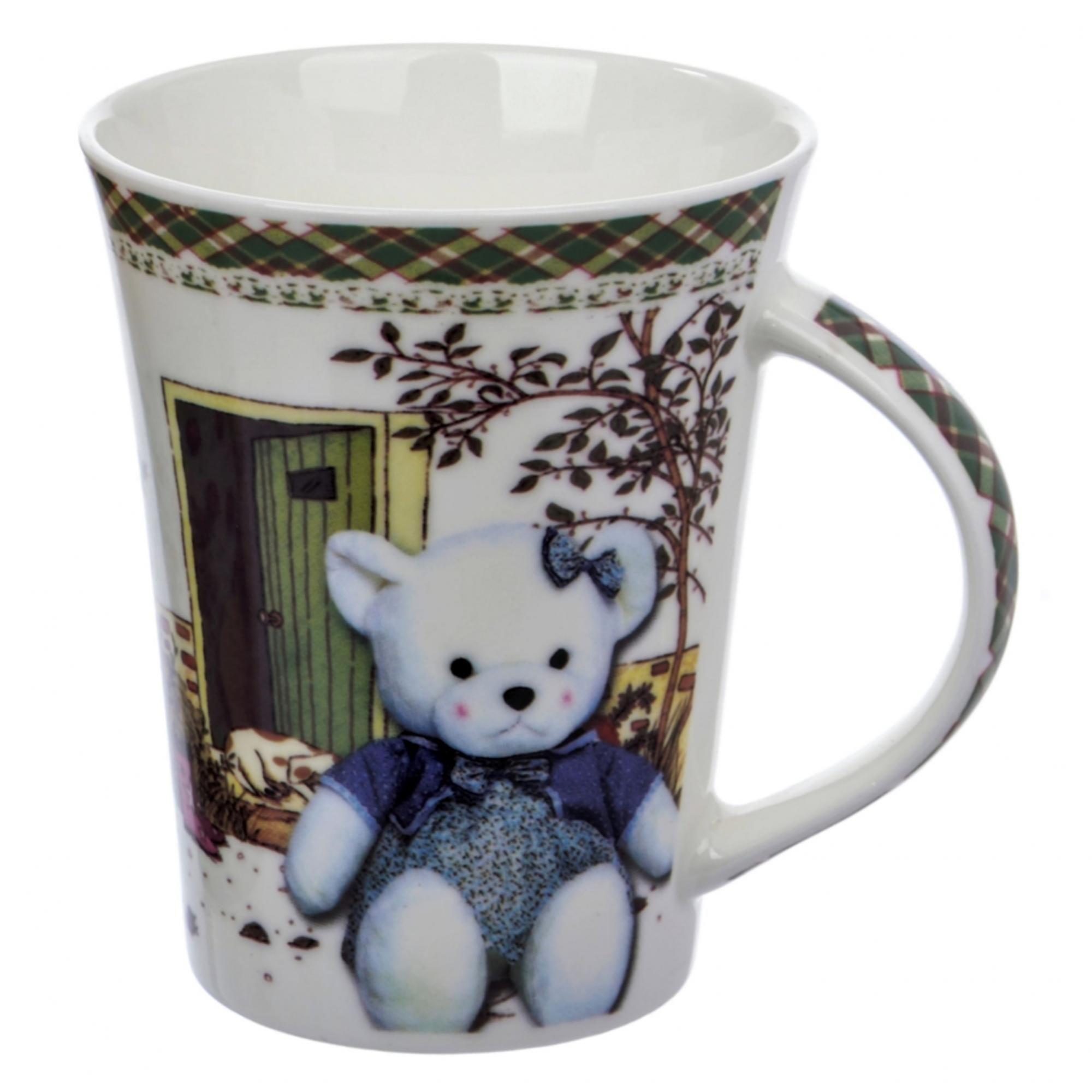 Кружка Liling Quanhu Медведи на даче №2 380 мл