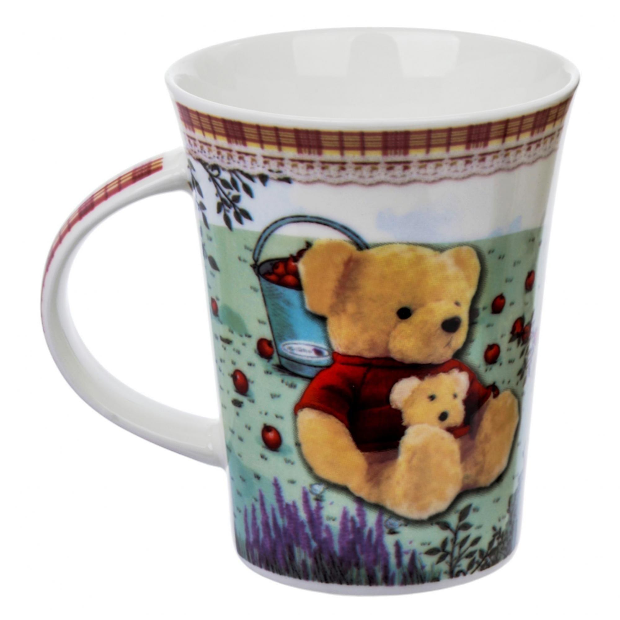 Кружка Liling Quanhu Медведи на даче №1 380 мл