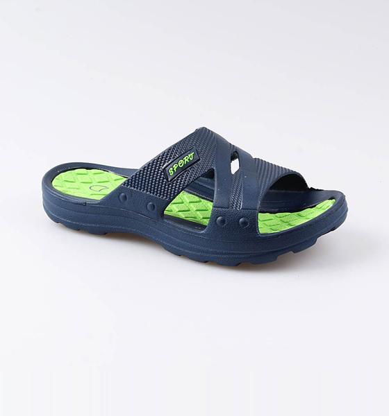 Купить 525024, Пляжная обувь для мальчиков Котофей, цв. синий, салатовый, р-р 31,