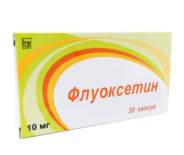 Флуоксетин капсулы 10 мг 20 шт. Озон ООО