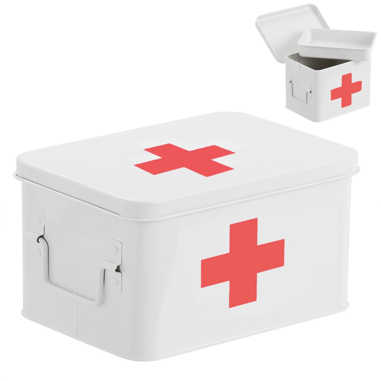 Контейнер для медикаментов D'casa белый 287714.