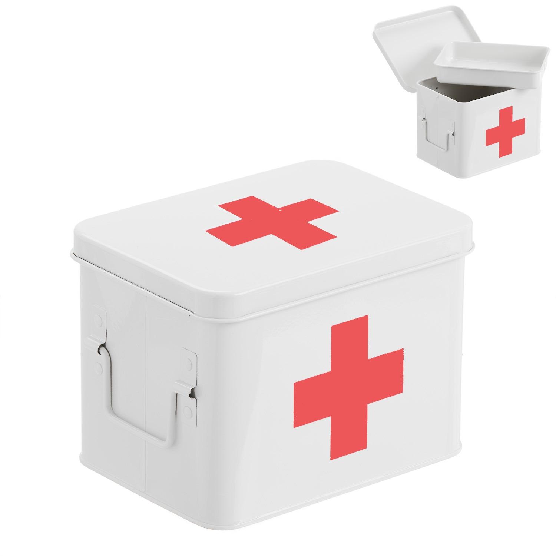 Контейнер для медикаментов D'casa M белый 287713.