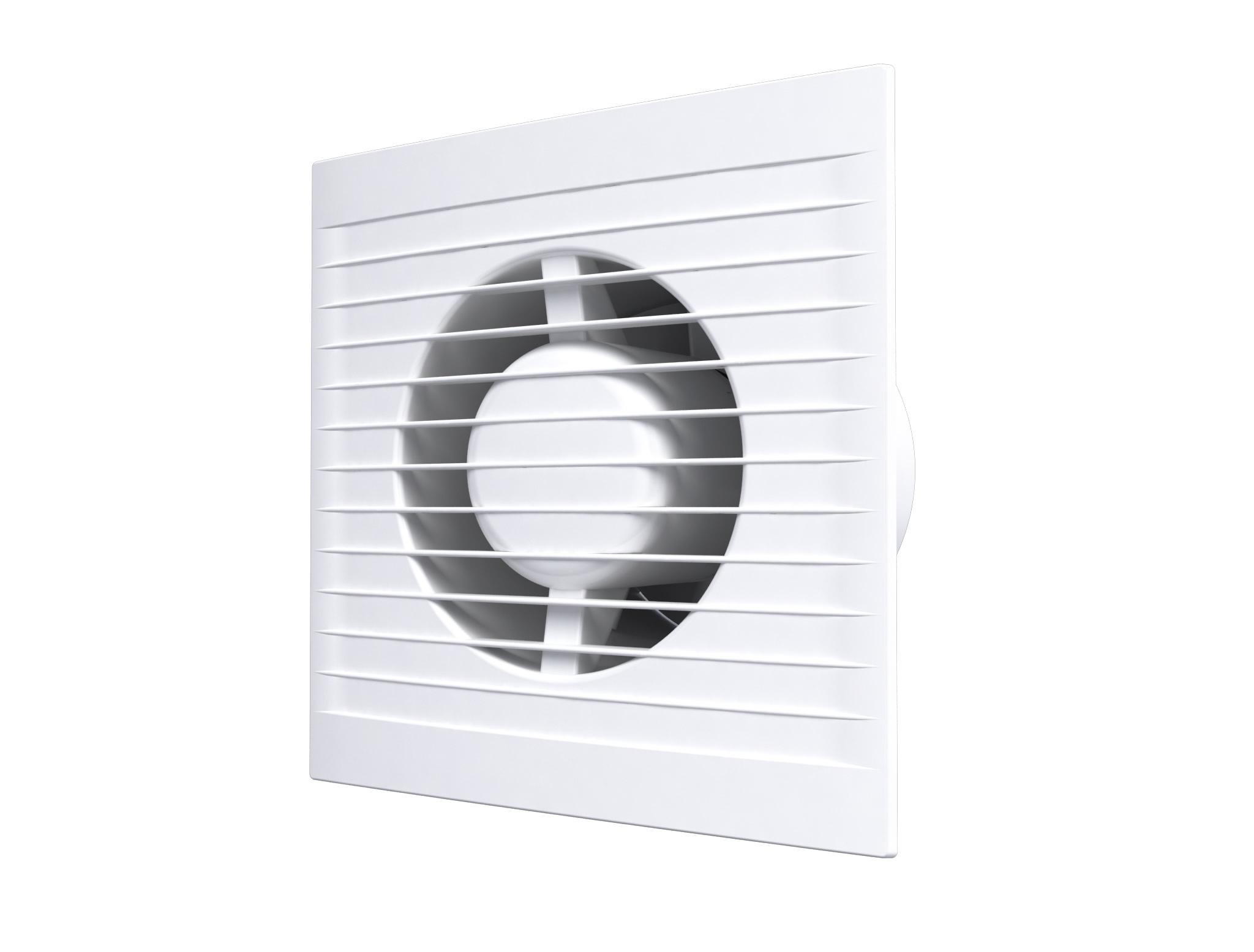 Вентилятор осевой вытяжной обратным клапаном AURAMAX  OPTIMA 4C