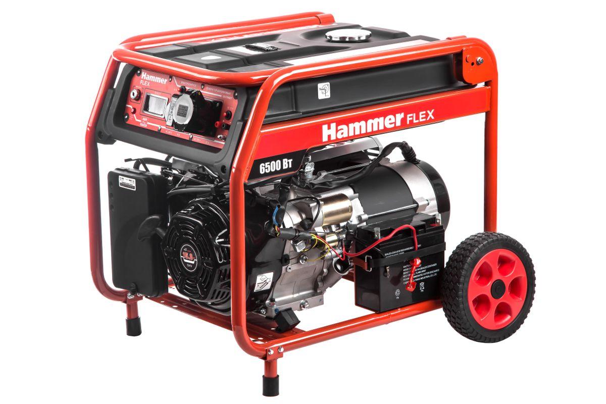 Бензиновый генератор HAMMER GN7000ET