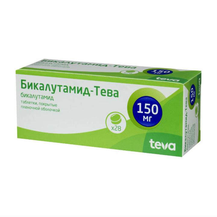 Бикалутамид-Тева таблетки п.п.о. 50 мг 28 шт.