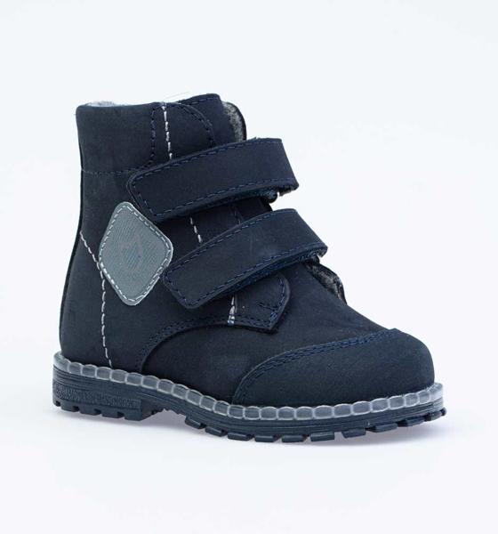 Купить Ботинки для мальчиков Котофей, цв. синий, р-р 24 152252-34_24,
