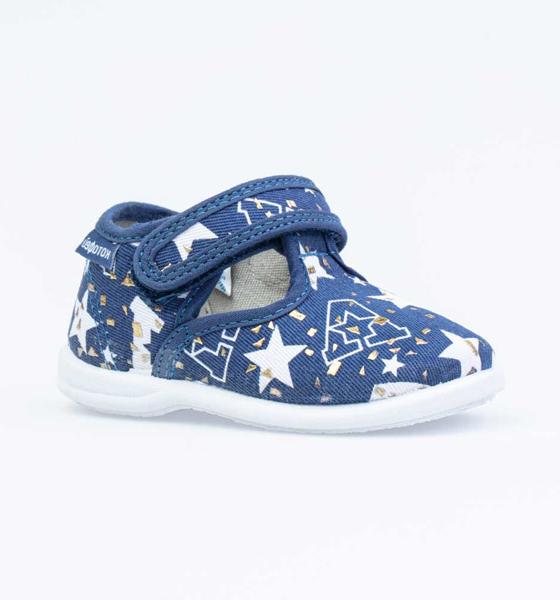 Текстильная обувь для мальчиков Котофей, цв. синий,