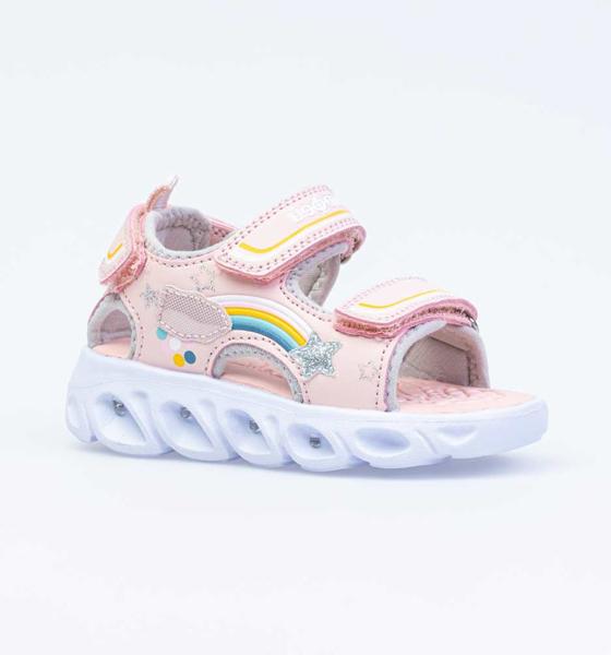 Пляжная обувь для девочек Котофей, цв. розовый, р-р 24