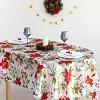 Скатерть Доляна «Рождество» 145×300 см, 100% п/э Доляна