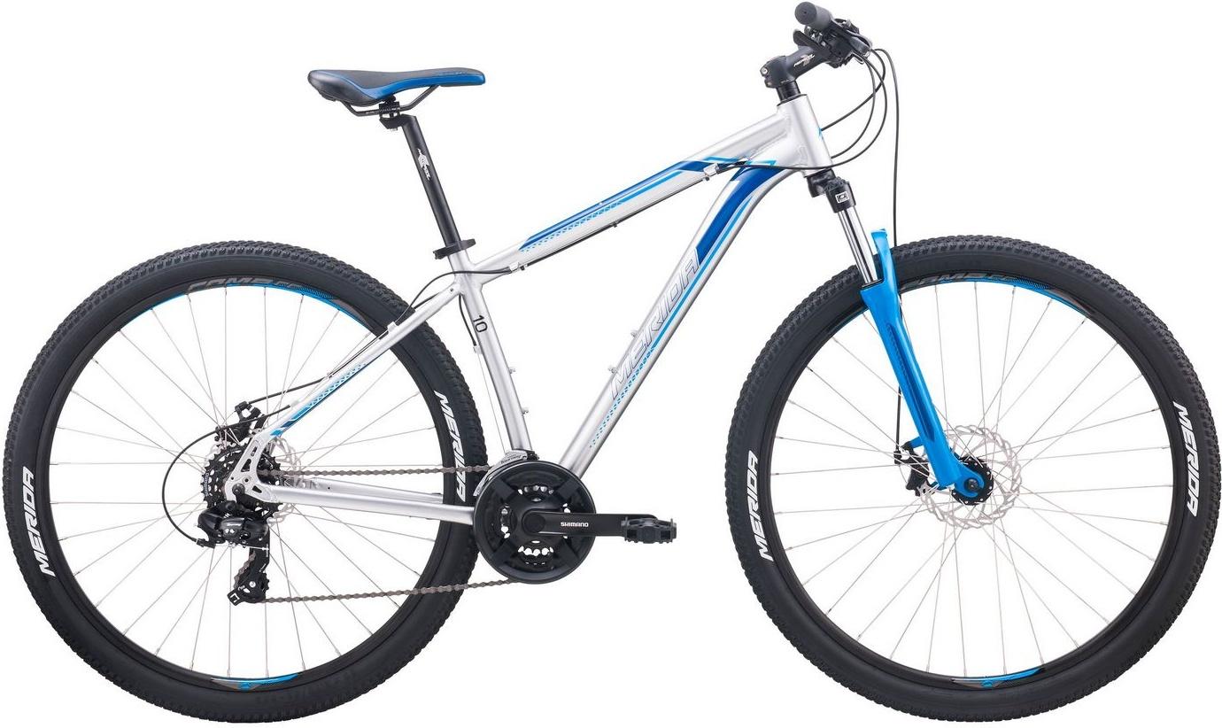 Горный велосипед Merida Big.Nine 10-MD (2020) размер рамы 21