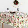 Скатерть Доляна «Рождественские подарки» 145×220 см, 100% п/э Доляна
