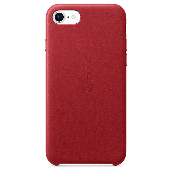 Чехол Apple для смартфона iPhone SE Leather Case - (PRODUCT)RED (MXYL2ZM/A)