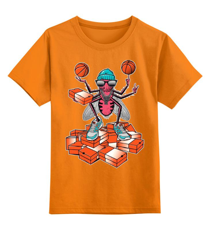 Детская футболка Printio Муха спортсмен цв.оранжевый р.164 0000001282340 по цене 990