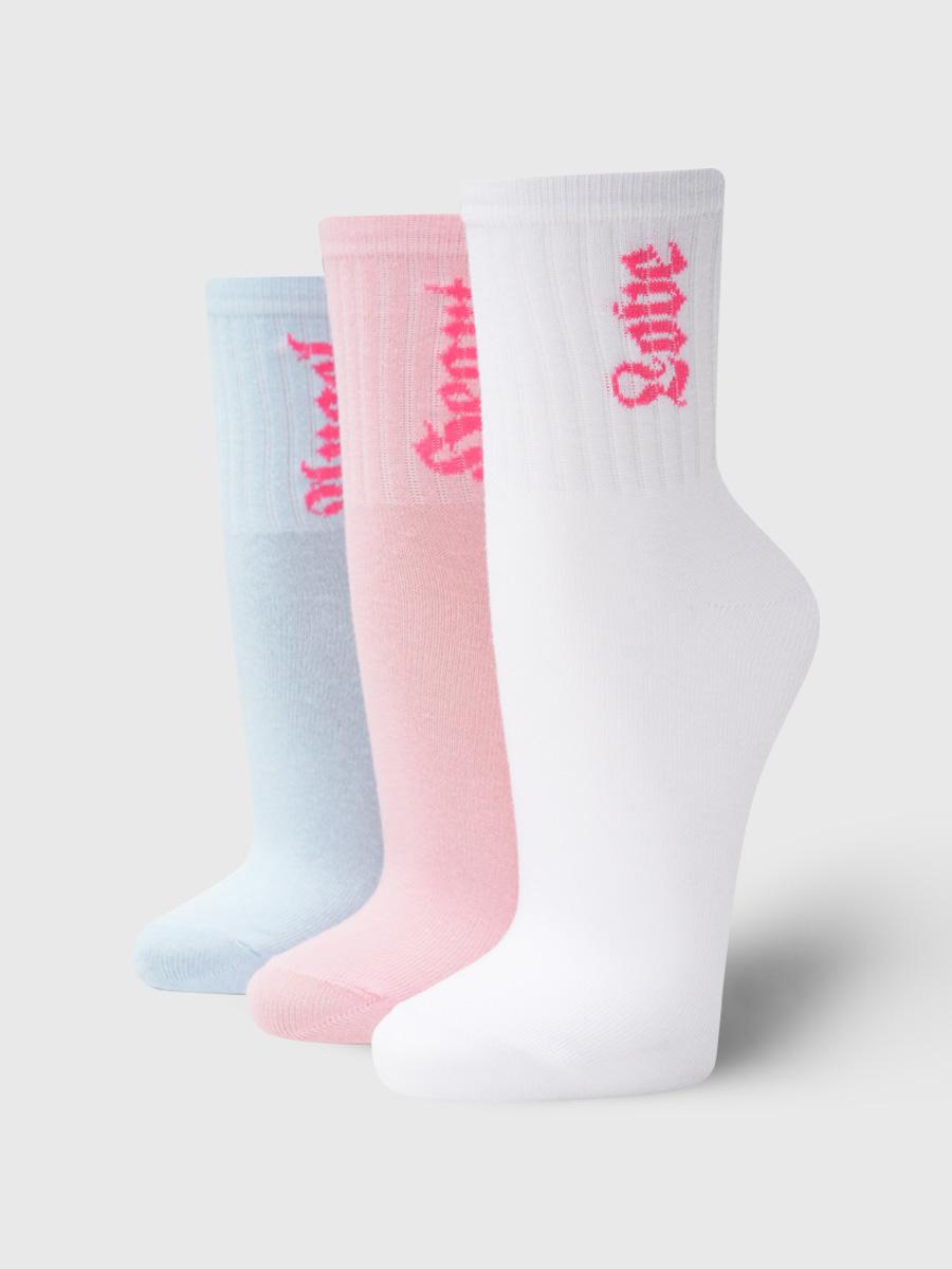 Набор носков женских ТВОЕ A7166 разноцветных ONE SIZE